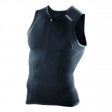 2XU Perform triathlon singlet zwart