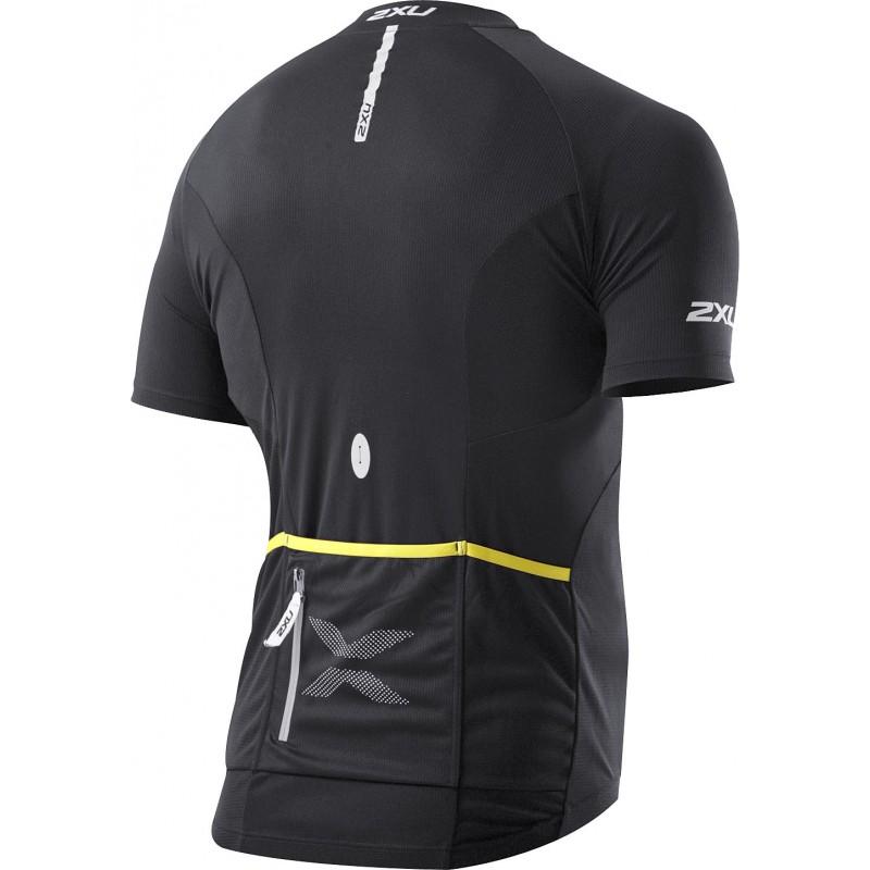2XU Road Comp Cycle Jersey blk/blk
