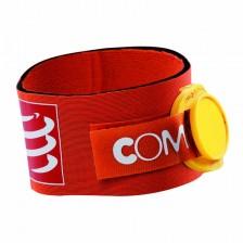 Compressport tijdchip band oranje