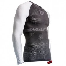 Compressport ON/OFF Multisport ondershirt grijs-wit