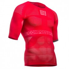 Compressport ON/OFF Multisport ondershirt korte mouw rood