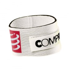 Compressport tijdchip band wit