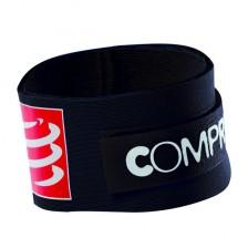 Compressport tijdchip band zwart