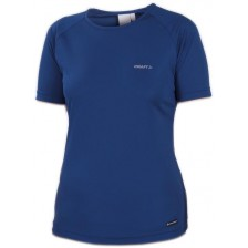 Craft Active Run Tee Women Blauw