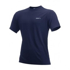 Craft Active Run Tee Men Donker Blauw
