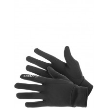 Thermal Run Glove Zwart