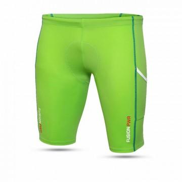 Fusion Triathlon Power short tights Groen
