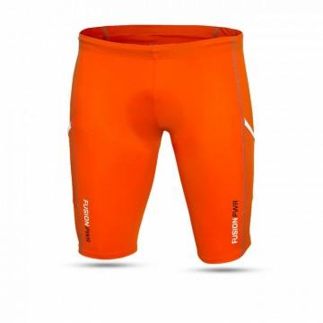 Fusion Triathlon Power short tights Oranje