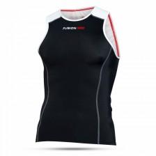 Fusion Dames Triathlon Top zwart