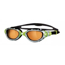 Zoggs Predator Flex Polarized Ultra zwembril lime groen Limited