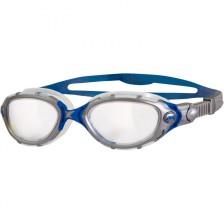 Zoggs Predator Flex zwembril zilver blauw