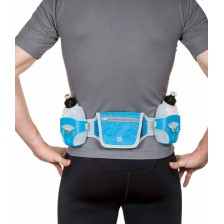 Run & Move Flask Belt PERFORMER 3.0 grijs-blauw drinkgordel